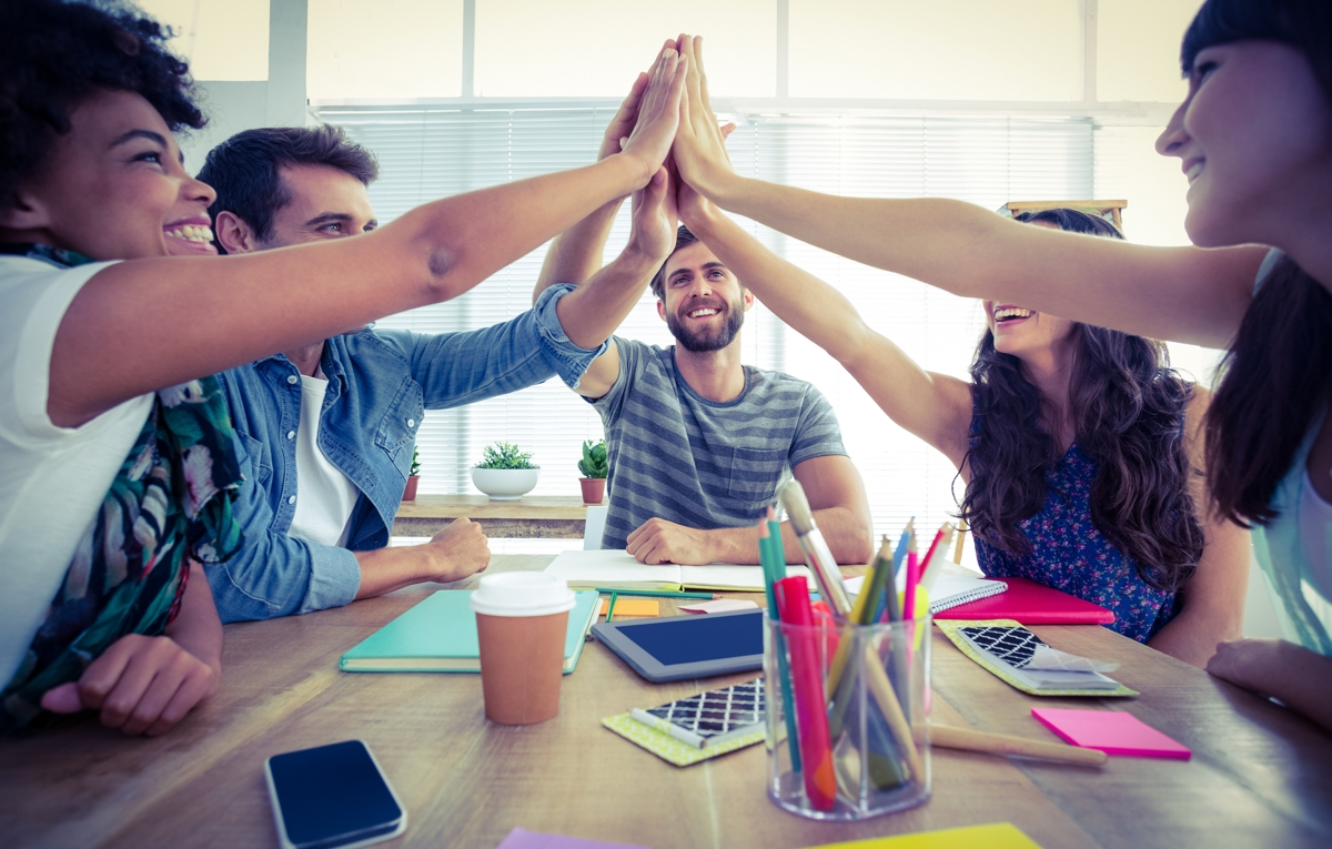 Executive Search Firm recruiting office teamwork